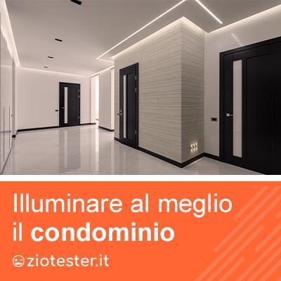 Come illuminare correttamente un condominio