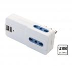 Adattatore multipla con USB