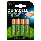 Batteria Duracell AA 2500mAh Ricaricabile - 4 pezzi