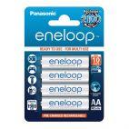 Batteria Panasonic Eneloop AA 1900mAh Ricaricabile - 4 pezzi