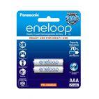 Batteria Panasonic Eneloop AAA 750mAh Ricaricabile - 2 pezzi