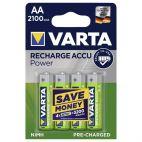 Batterie Varta AA 56706 Ricaricabili Confezione da 4 Pz
