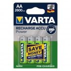 Batterie Varta AA 5716 Ricaricabili Confezione da 4 Pz