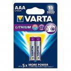 Batterie Varta AAA Micro FR10G445 - LR03 - 2 pezzi