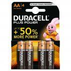 Batterie AA Duracell Alcaline PLUS POWER Duralock