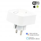 Presa Schuko Smart WiFi 16A con controllo energia