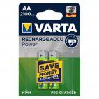 Batterie Varta AA 56706 Ricaricabili Confezione da 2 Pz