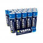 Batterie Alcaline Varta AA 4906 Confezione da 24 Pz