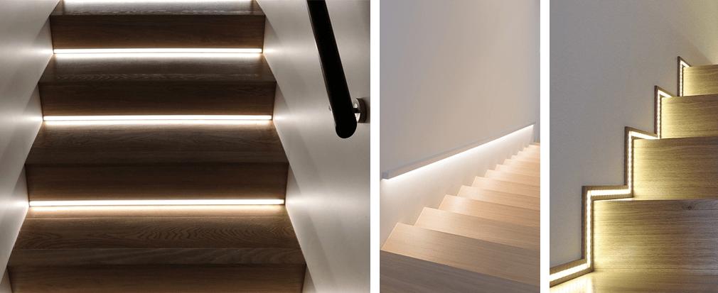 Come illuminare con le strip LED