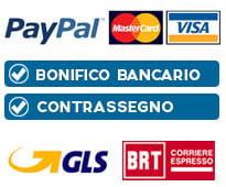 metodi di pagamento e spedizioni