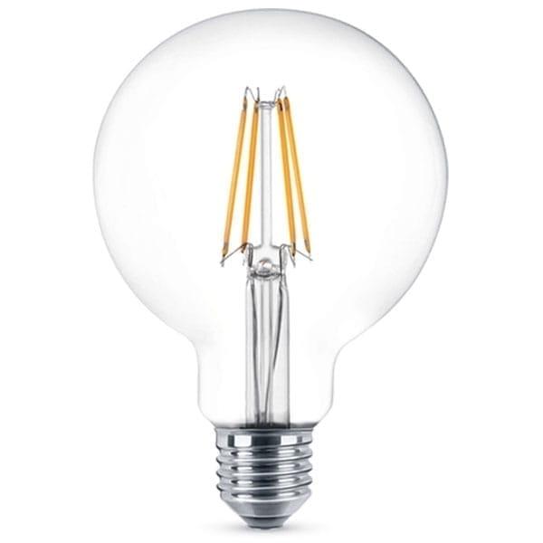 Neos Lampadina LED Filament e27 Globe 8W - Equivalente a 60W